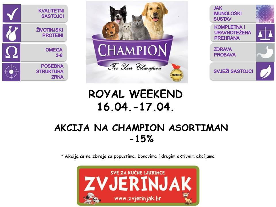 Royal weekend